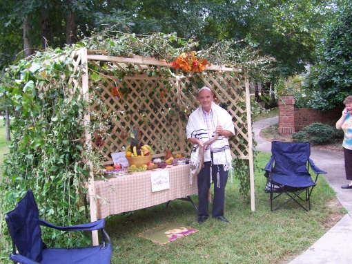 A Sukkah is a Tabernacle for the presence of God!