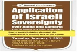 Application of Israeli Sovereignty
