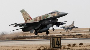 An Israeli F-16I fighter plane takes off from Ramon Air Base in southern Israel. (File photo: Reuters)