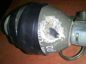 bullet in grenade Gaza 7-27-14