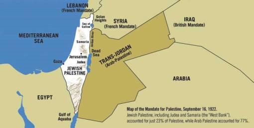 1922 map