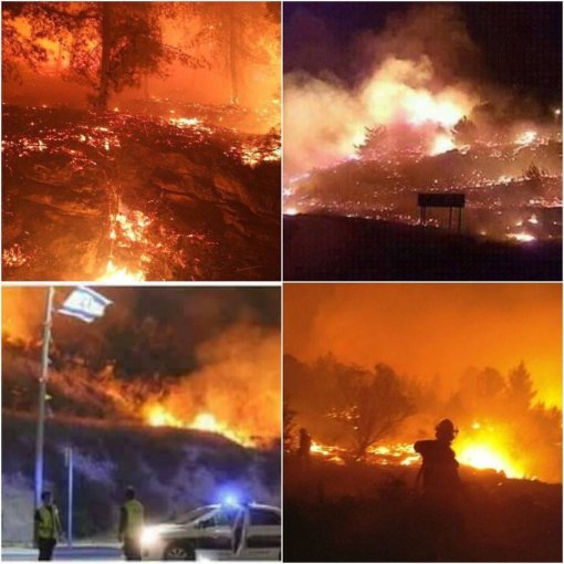 israel-wild-fires