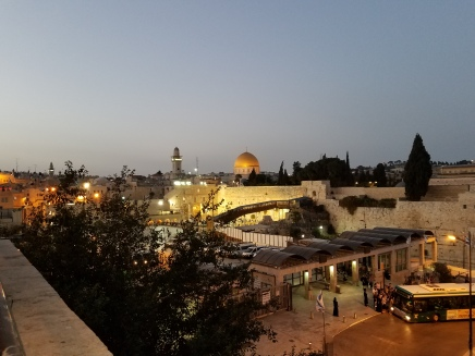 Western Wall at night 6-19-17