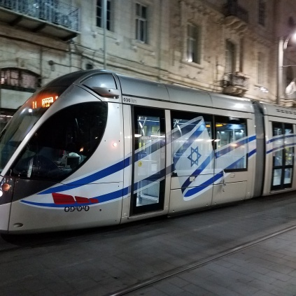 Light rail Jerusalem