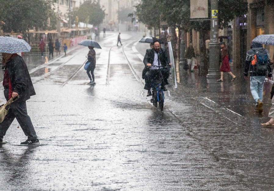 Rain in Israel