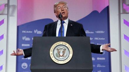 Trump at Value Voters Summit 2017