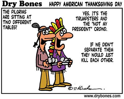 Dry Bones Thanksgiving 2017