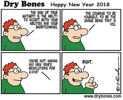 Dry Bones Happy 2018