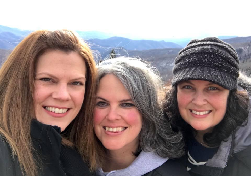 Roan Mt 2017 Our 3 daughters