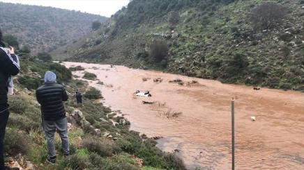 Israel rain flooding