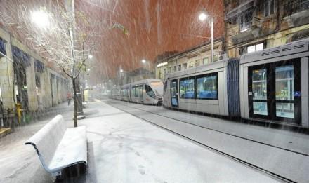 Israel Snow in Jerusalem