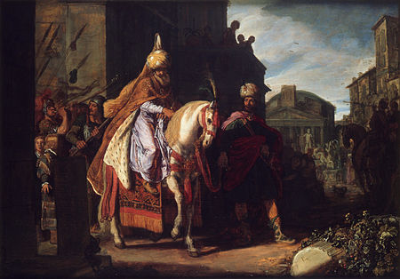 Mordecai Pieter_Pietersz._Lastman_-_The_Triumph_of_Mordechai