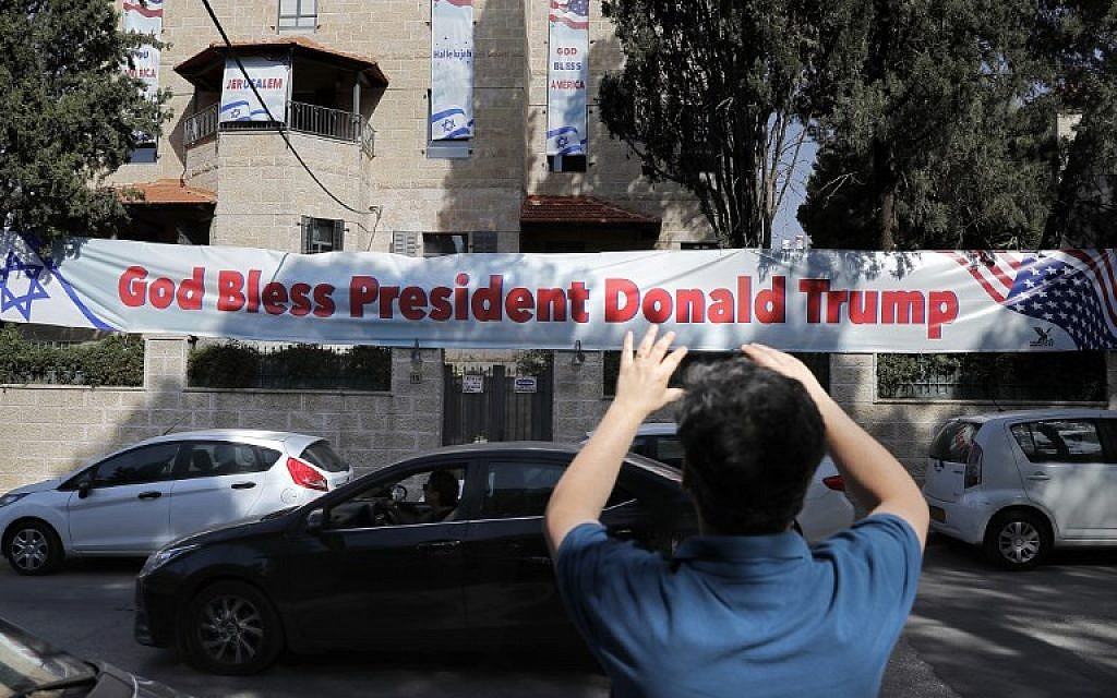 God bless Trump - Embassy