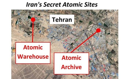 Iran's atomic sites