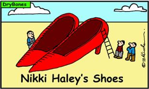 Dry Bones Nikki Haley