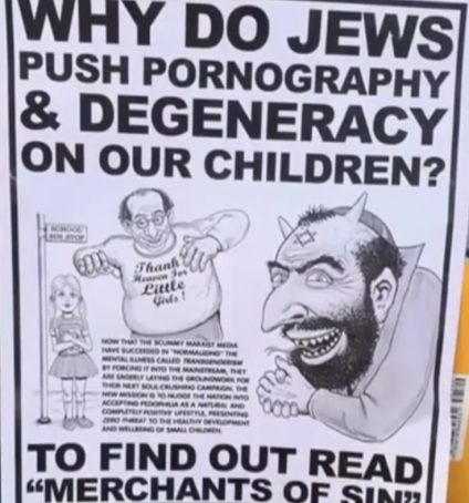 anti-semitic flyer 1-13-19 newton ma