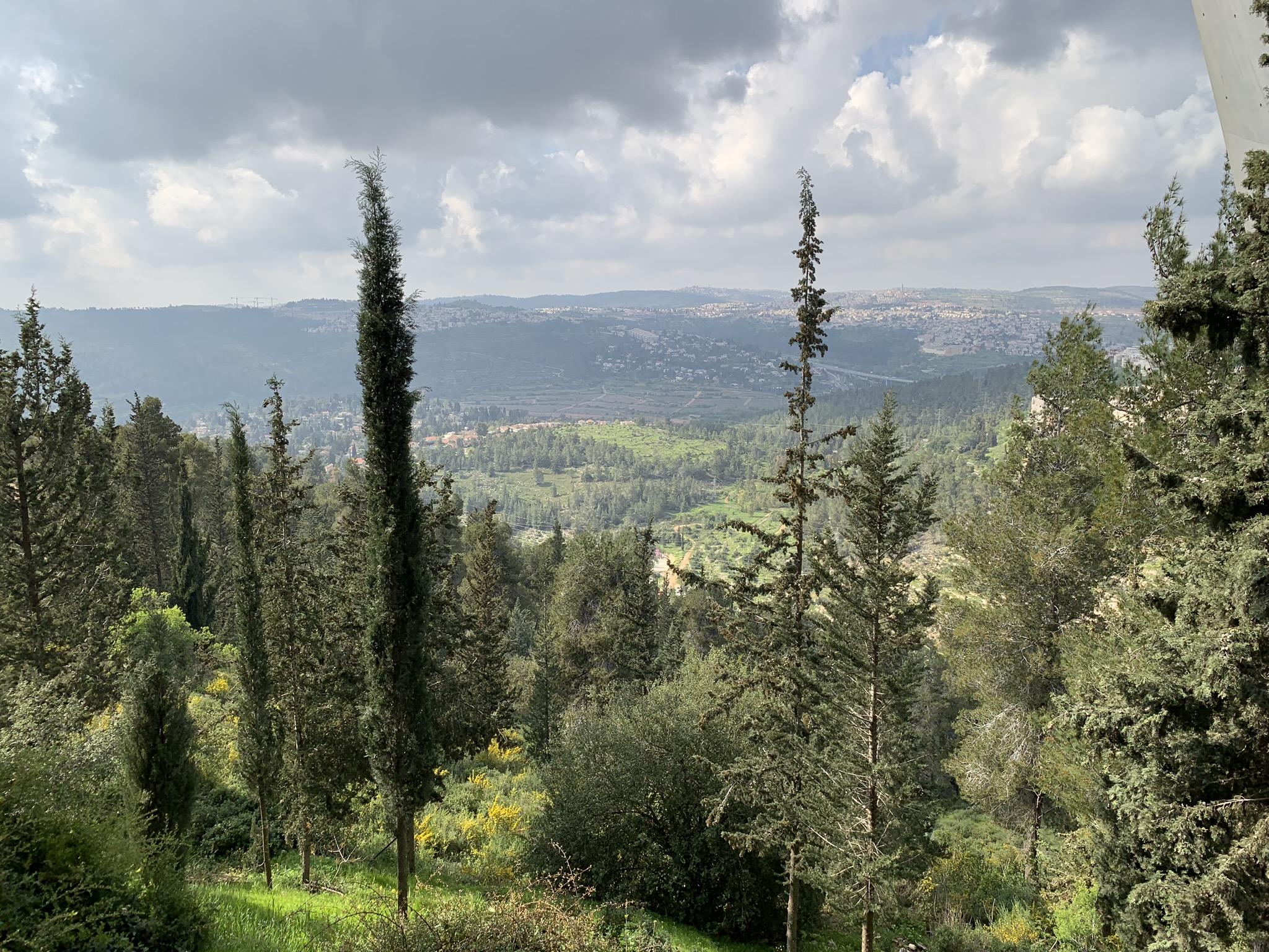 Yad Vashem view today