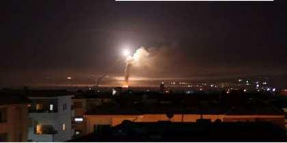 Syria missile Damascus_Missile-Strike