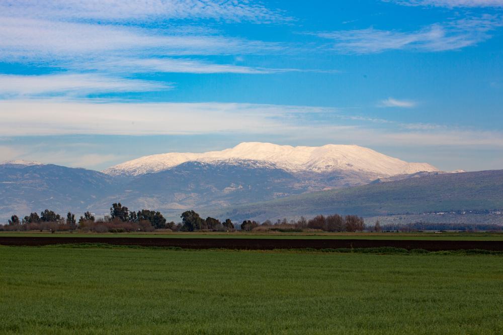 Hula Valley & Mt Hermon