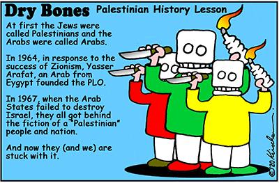 Dry Bones Palestinians