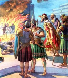 firey furnace c298e3c938f74a2e65374b2f0267b7eb--bible-illustrations-most-high