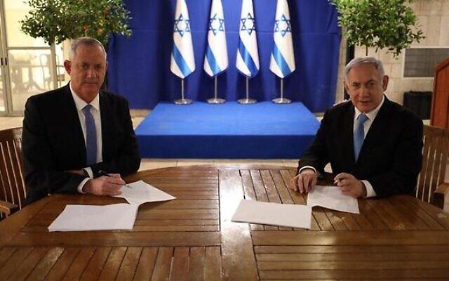 Gantz and Netanyahu agree