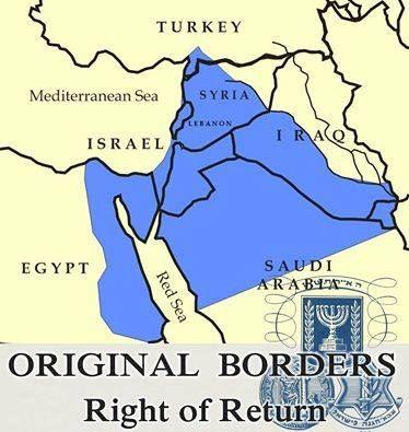 Israel borders