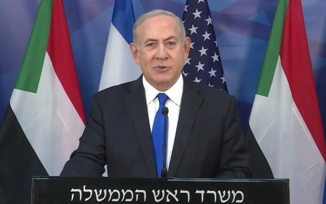 Netanyahu and Sudan peace