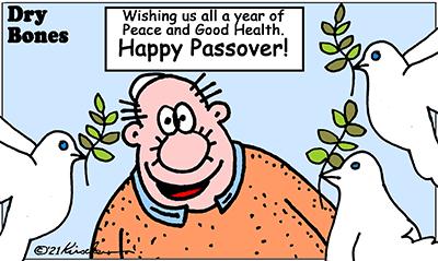 Dry Bones Passover 2021