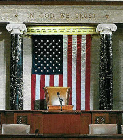 house of rep - in God