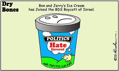 Dry Bones Ben & Jerry hate